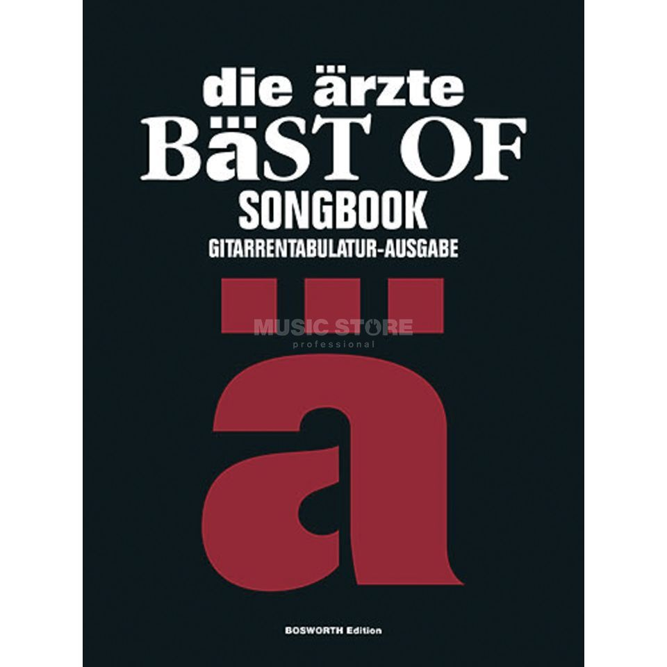 Bosworth Music Die Ärzte: Bäst Of Songbook Produktbild