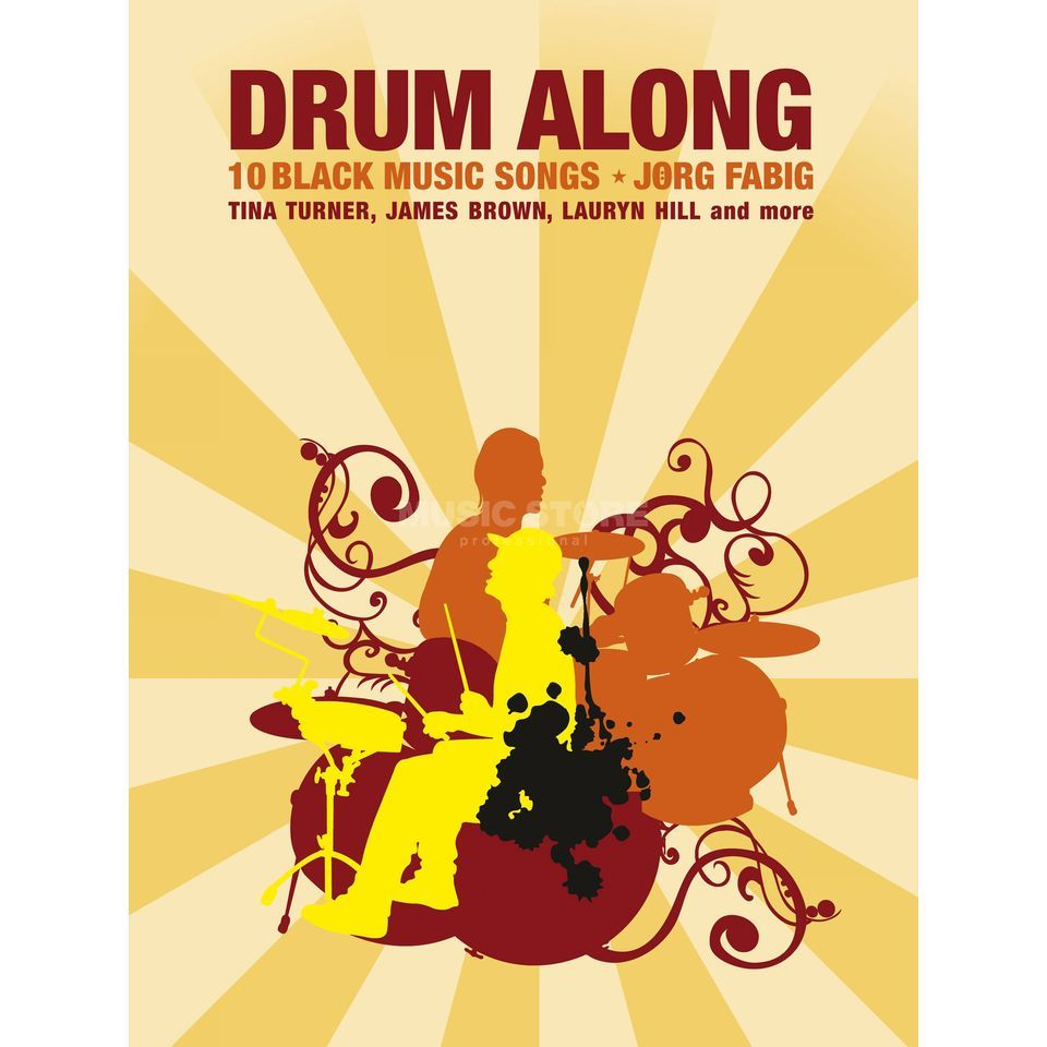 Bosworth Music Drum Along: 10 Black Music Songs, Jörg Fabig Produktbillede