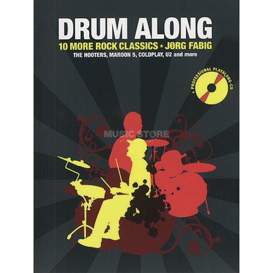 Bosworth Music Drum Along: 10 More Rock Classics, Jörg Fabig Produktbillede