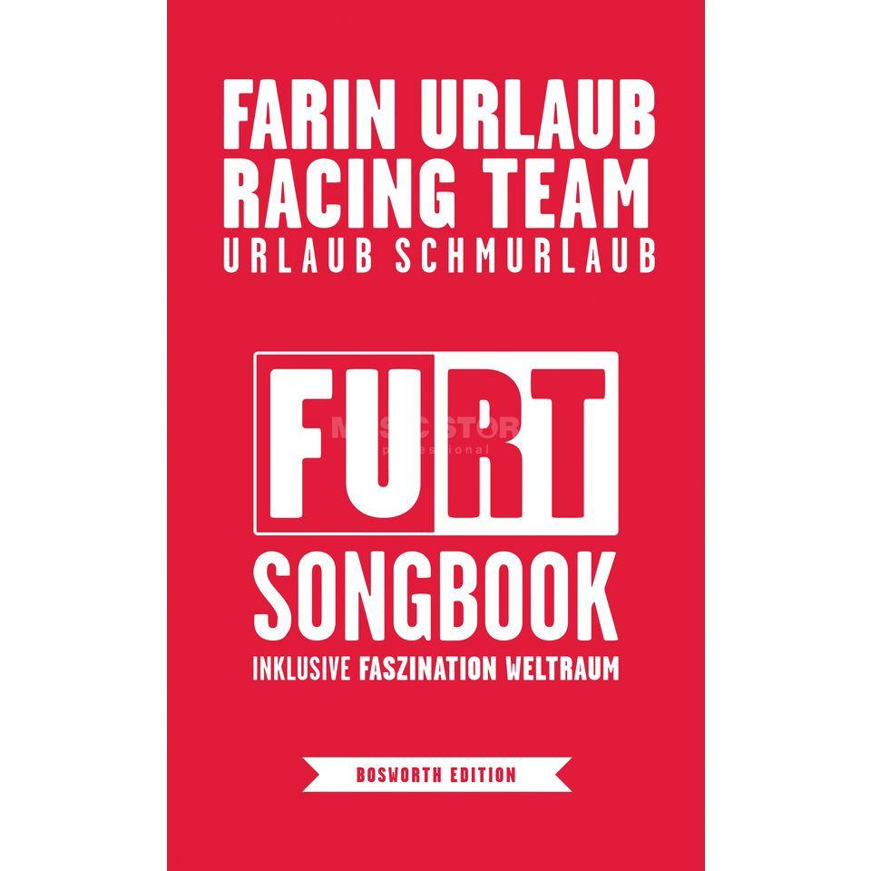 Bosworth Music Farin Urlaub Racing Team: Songbook Produktbild