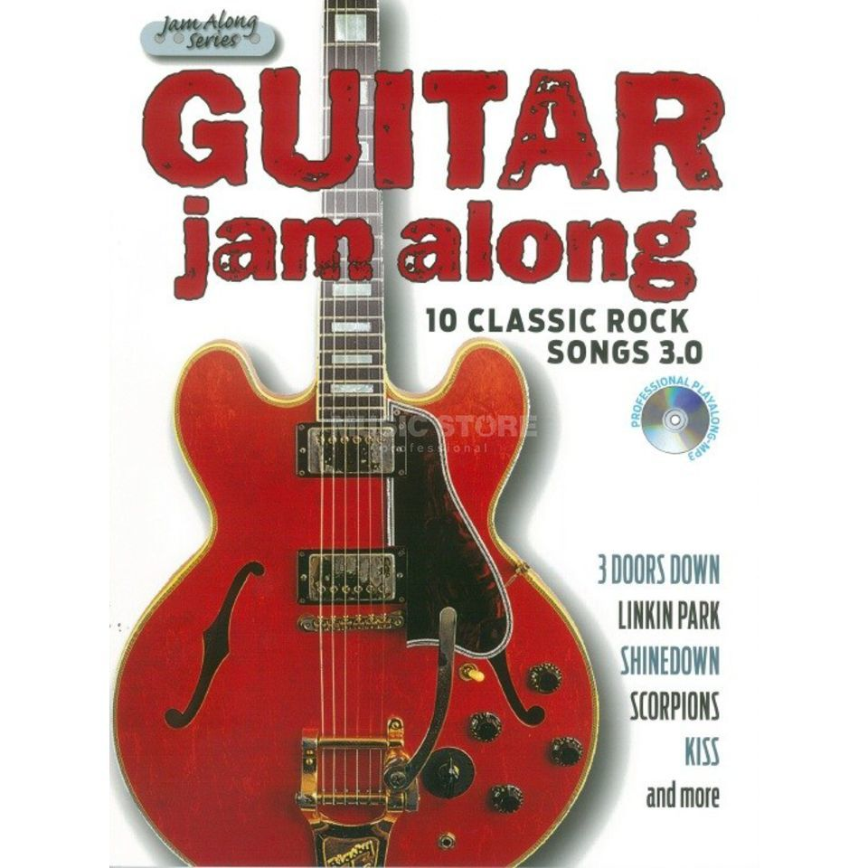 Bosworth Music Guitar Jam Along: 10 Classic Rock Songs 3.0 Produktbild