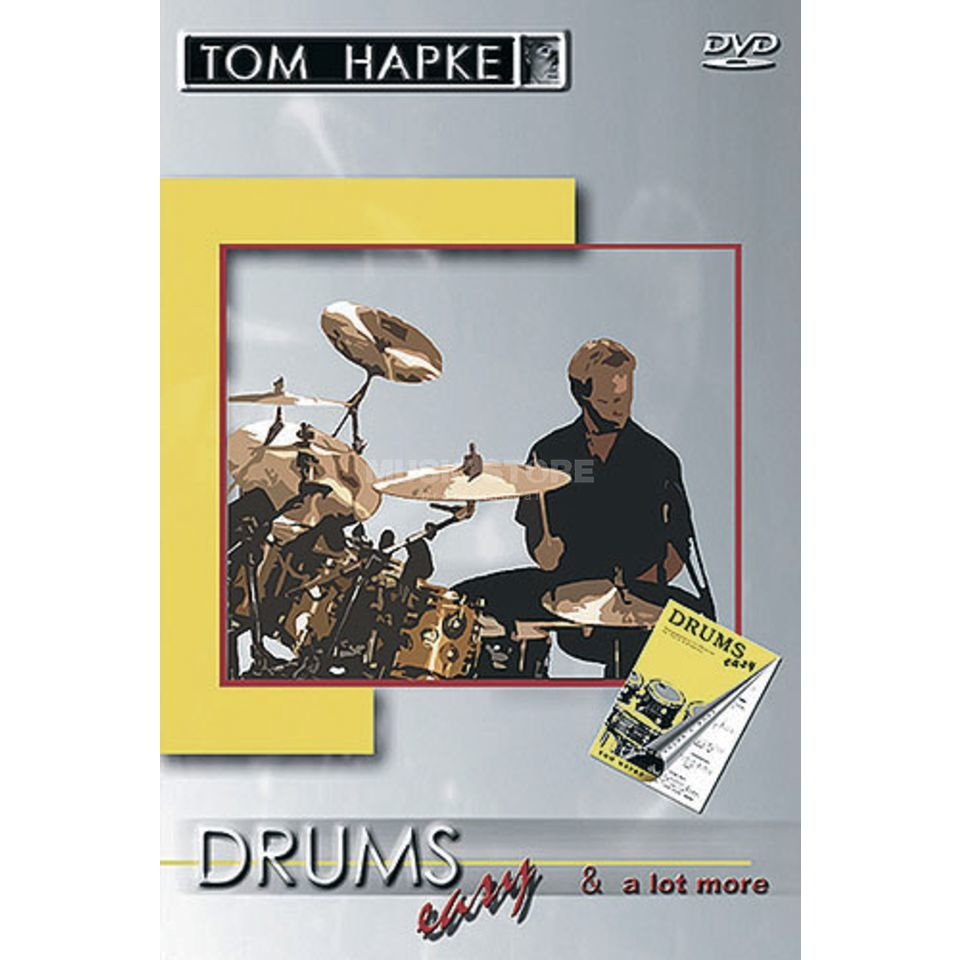 Bosworth Music Hapke - Drums easy DVD Produktbild