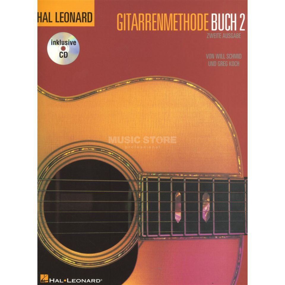 Bosworth Music HLGM Gitarrenmethode Buch 2 Buch und CD Produktbillede