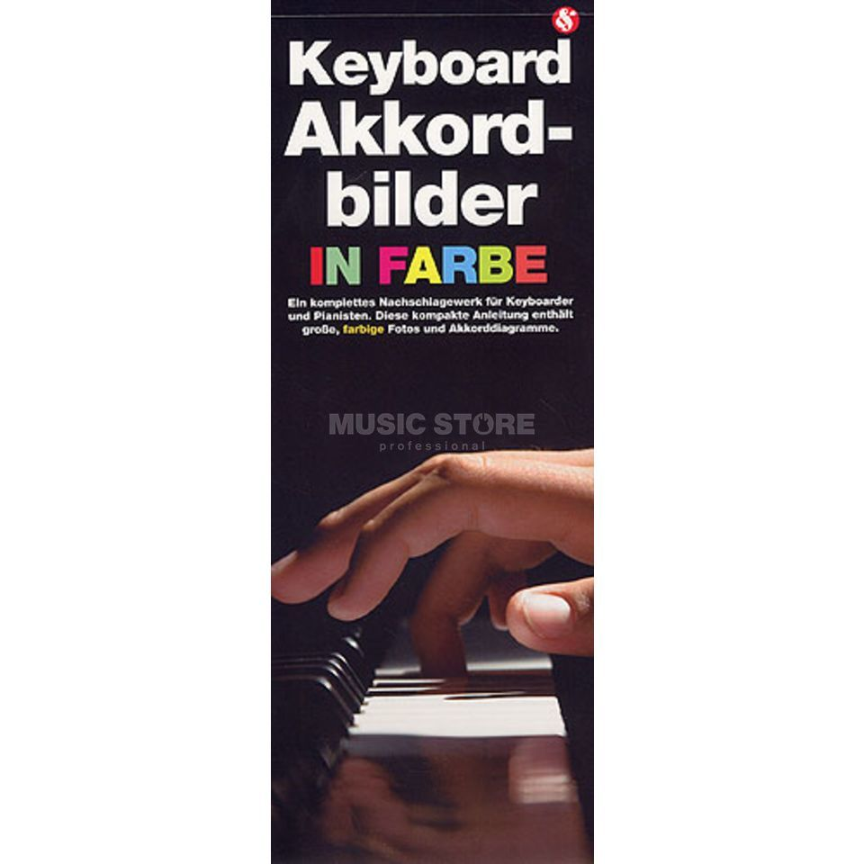 Bosworth Music Keyboard Akkordbilder in Farbe  Produktbillede