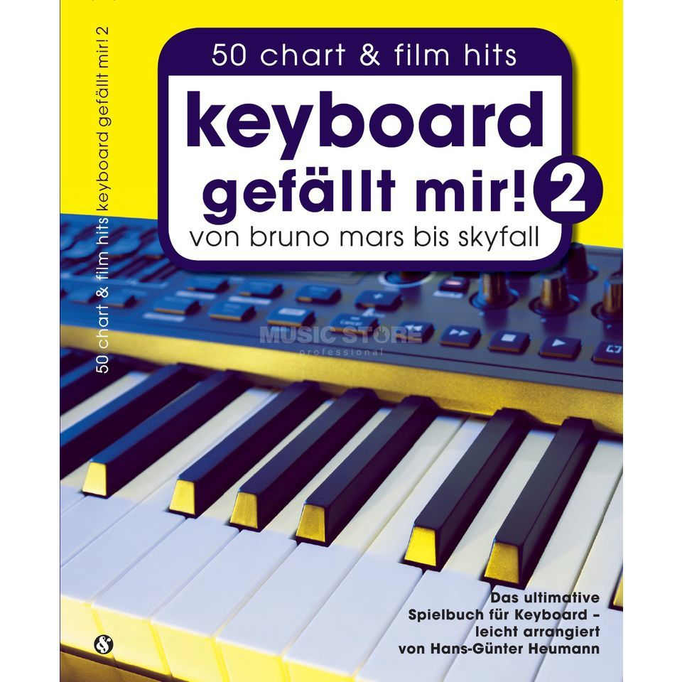 Bosworth Music Keyboard gefällt mir! 50 Chart & Film Hits 2 Product Image