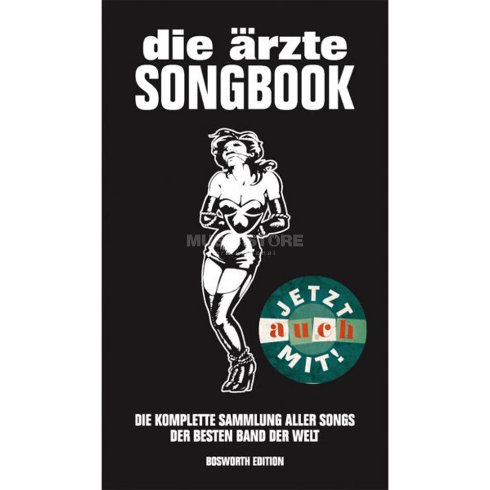 Bosworth Music Little Black Book Die Ärzte Lyrics, Chords Produktbillede