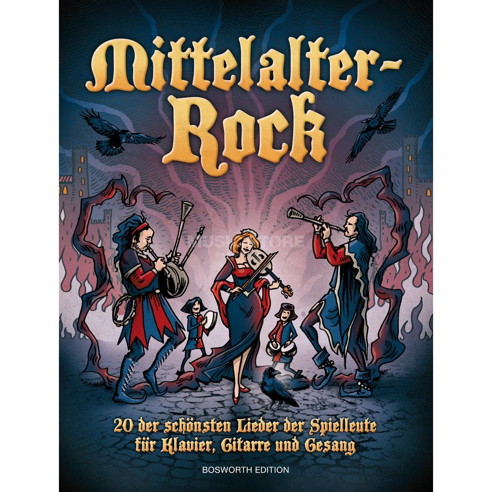 Bosworth Music Mittelalter-Rock Produktbillede