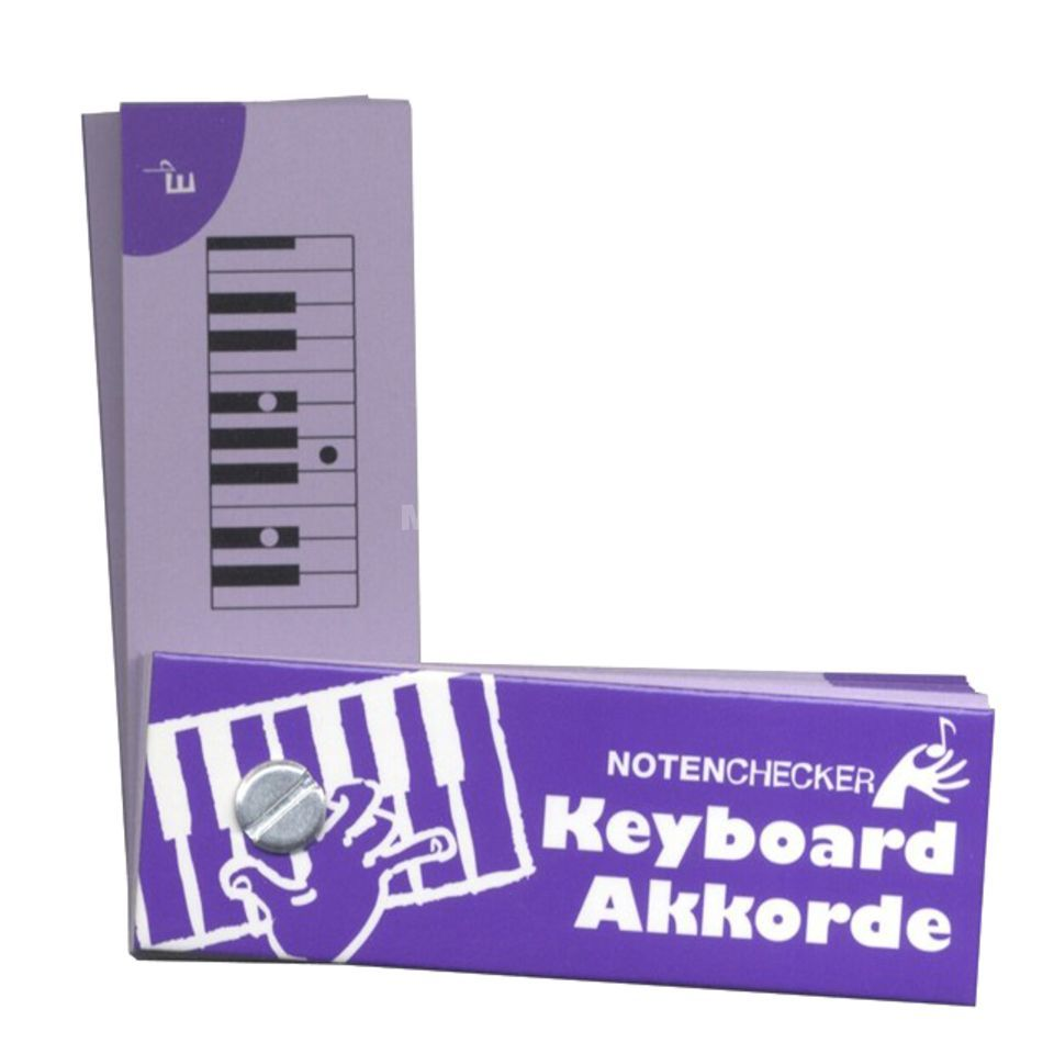 Bosworth Music Notenchecker Keyboard Chords  Produktbild