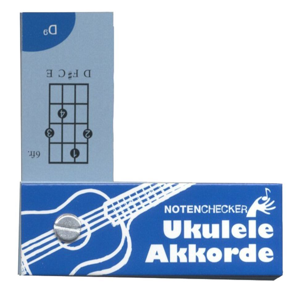 Bosworth Music Notenchecker Ukulele Chords  Produktbillede