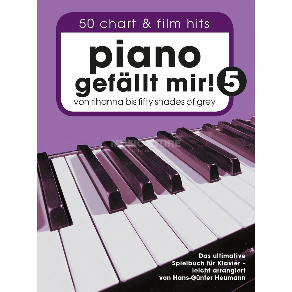 Bosworth Music Piano gefällt mir! 50 Chart & Film Hits 5 Imagen del producto