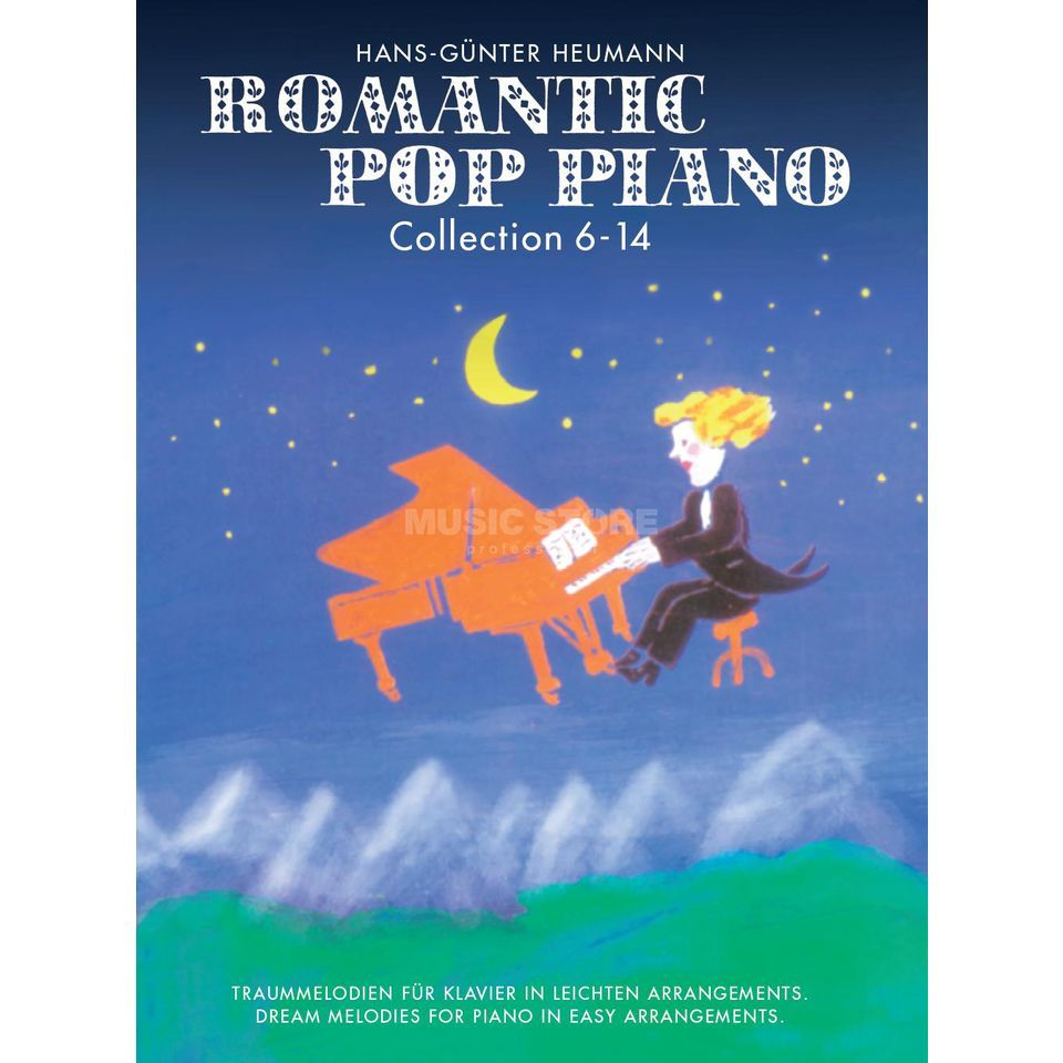 Bosworth Music Romantic Pop Piano 6-14 Sammelband Produktbillede