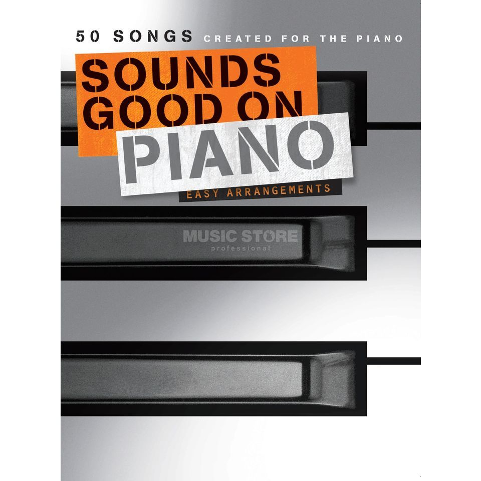 Bosworth Music Sounds Good On Piano Produktbillede