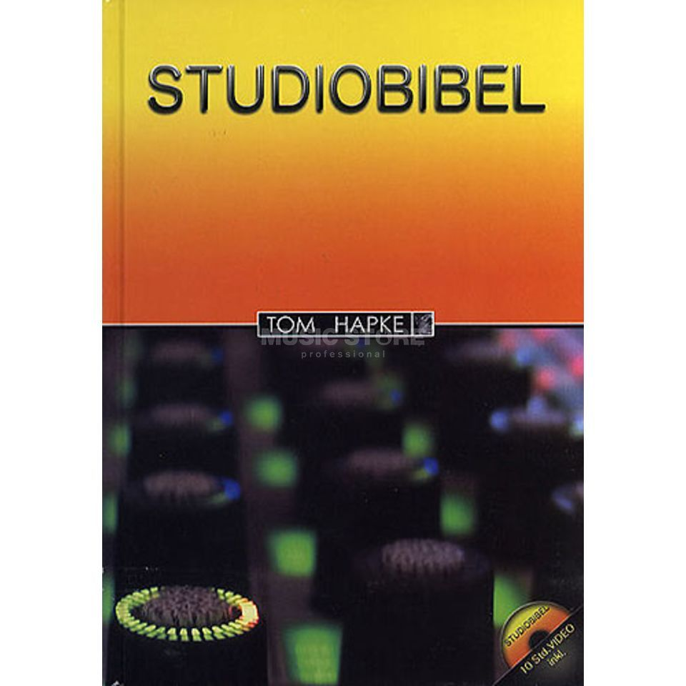 Bosworth Music Studiobibel Tom Hapke, Buch mit 3 DVDs Produktbillede