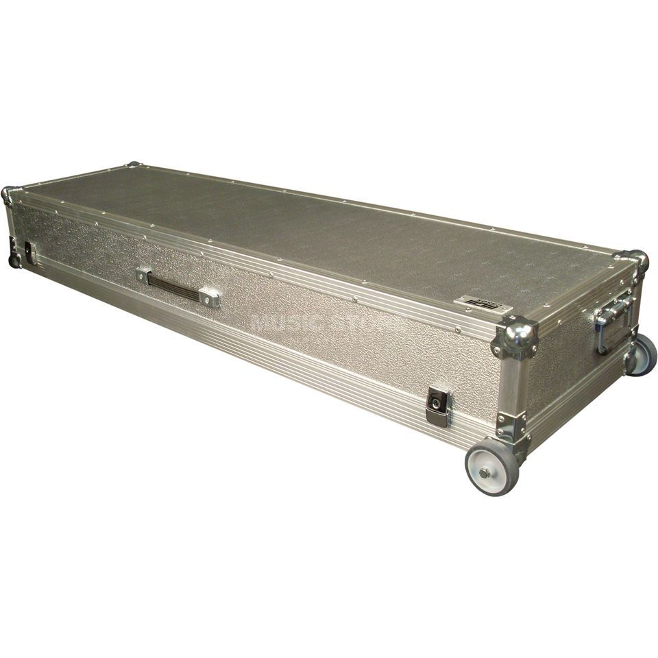 BOXPROFI Alu-case for Hammond SK2 3 handles, with castors Immagine prodotto