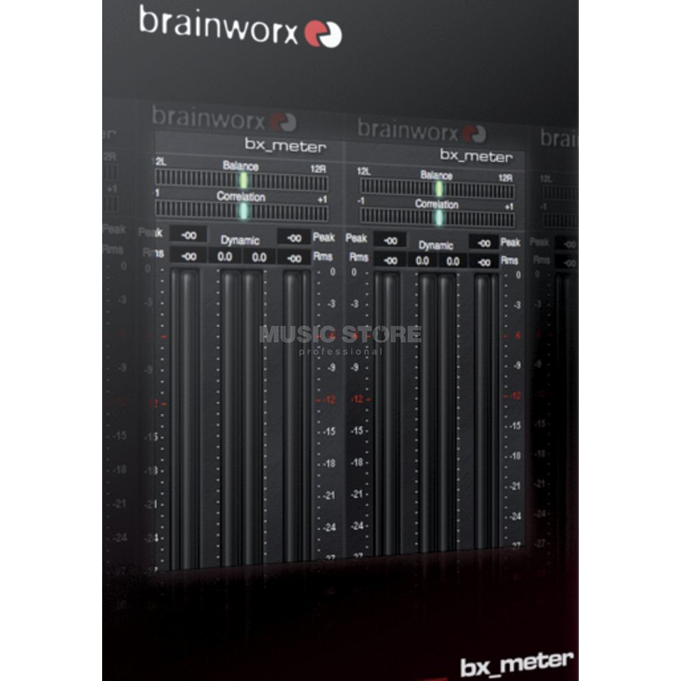 Brainworx bx_meter Plug In - Download license Produktbillede
