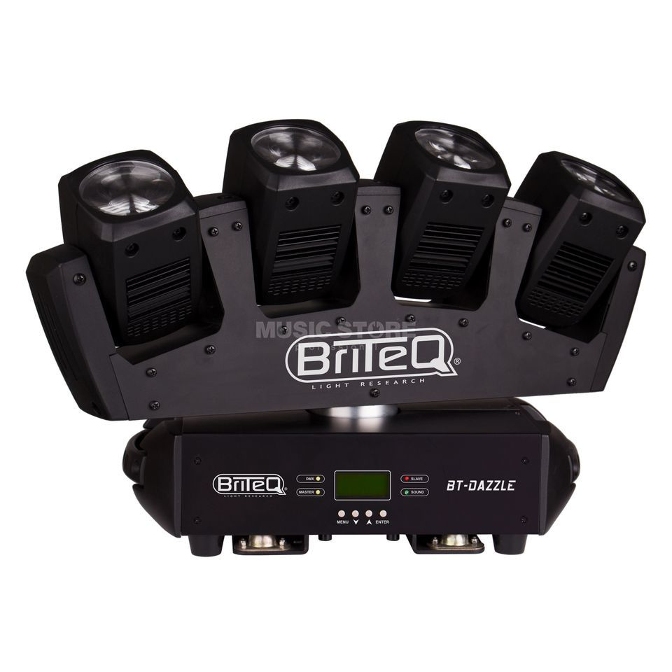 Briteq BT-Dazzle 4 x 8W Moving Beam 3,5° Abstrahlwinkel, endl. PAN Produktbild