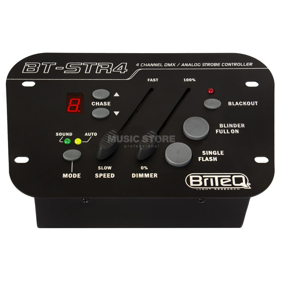 Briteq BT-STR 4 4-Channel Strobe Light-Controller Produktbillede