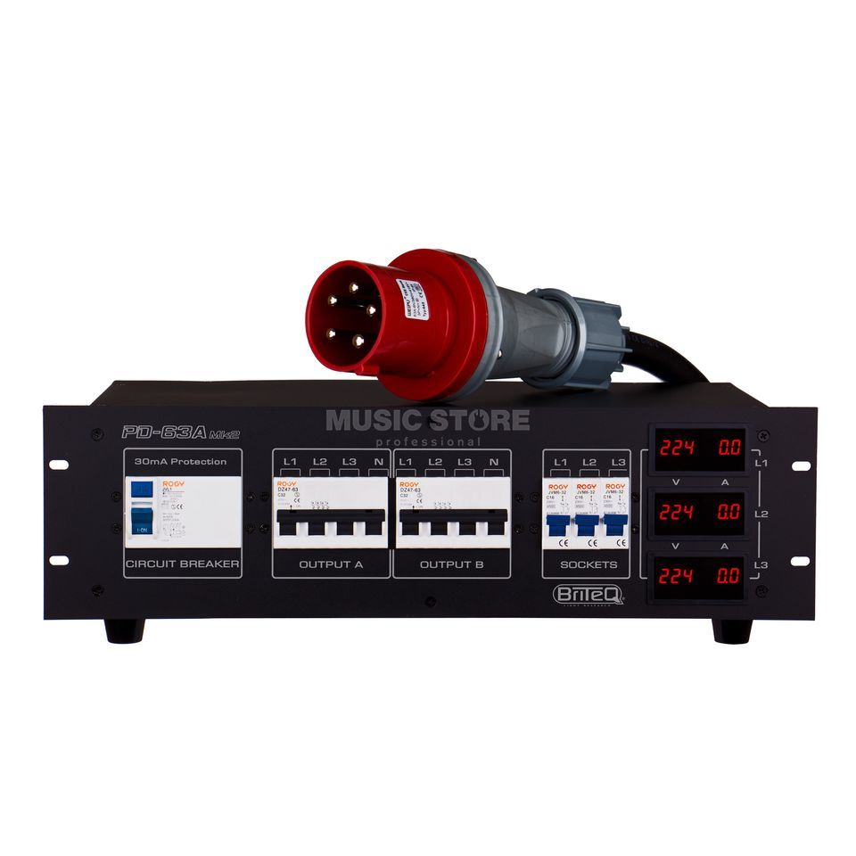 Briteq PD 63A MK2 Power Distribution Produktbild