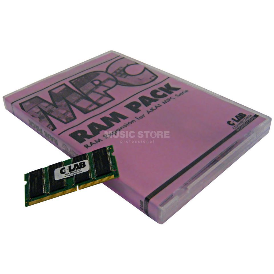 C-LAB MPC RAM PACK 128 MB SO DIMM for AKAI MPC 500/1000/2500 Produktbillede