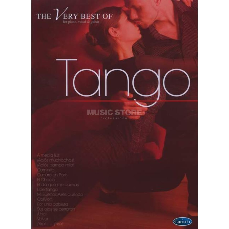 Carisch-Verlag The Very Best Of Tango Produktbillede
