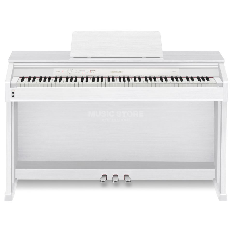 Casio AP 460 WE digitaal Piano wit Productafbeelding
