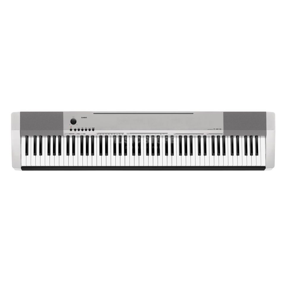 Casio CDP-130 SR Digital Piano Silver Product Image