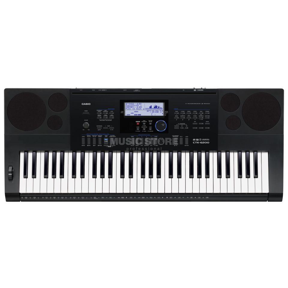 Casio CTK-6200 Portable Keyboard 61 keys Produktbillede