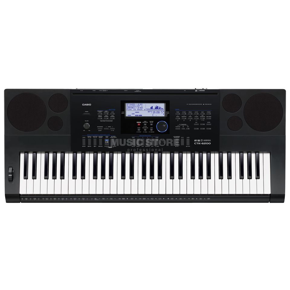 Casio CTK-6200 (UK Version) Product Image