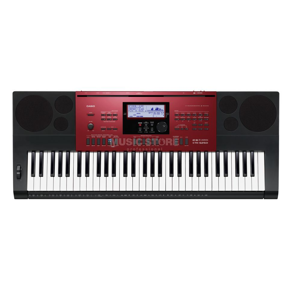Casio CTK-6250 Portable Keyboard Produktbillede