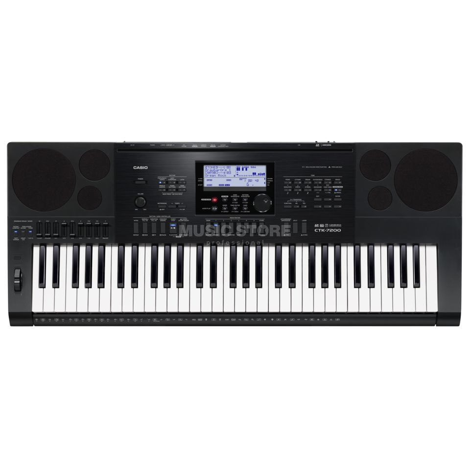 Casio CTK-7200 Portable Keyboard Produktbillede