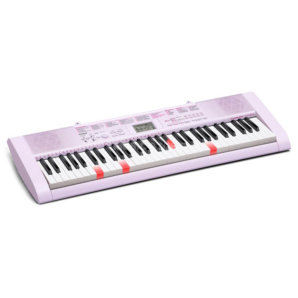 Casio LK-127 Key Lighted Keyboard Produktbillede