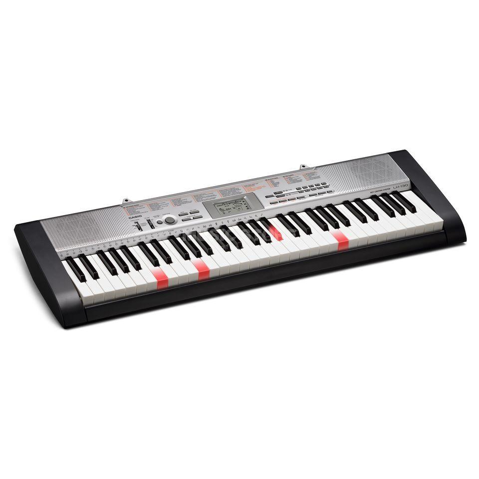 Casio LK-130 keyboard lighted keys Produktbillede