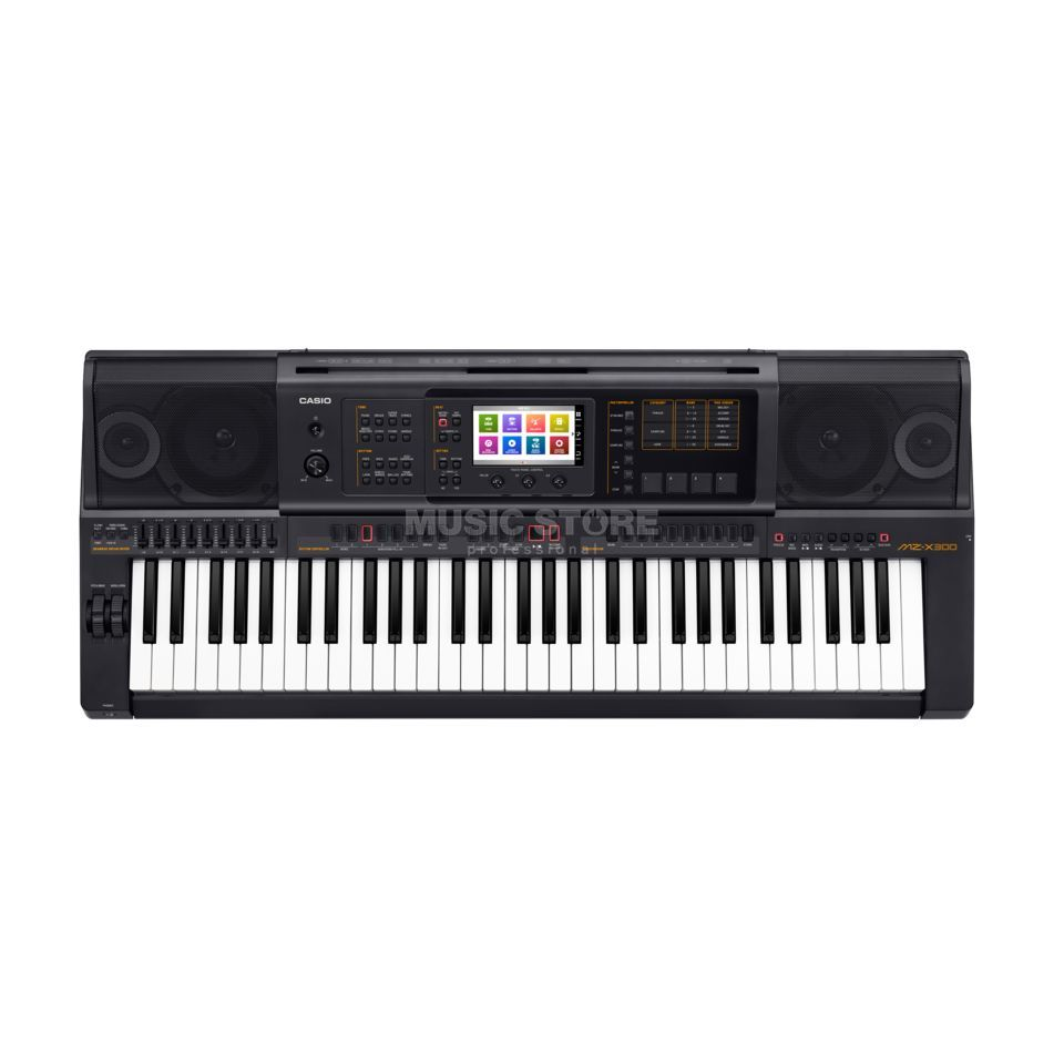 Casio MZ-X300 Premium Entertainer Keyboard Produktbild