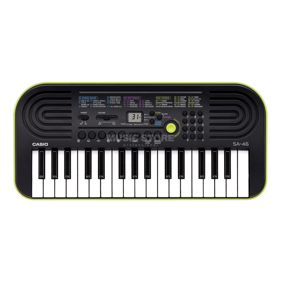 Casio SA-46 Mini Keyboard    Produktbillede