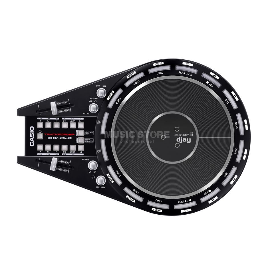 Casio XW-DJ1 all-in-one DJ Controller Produktbillede