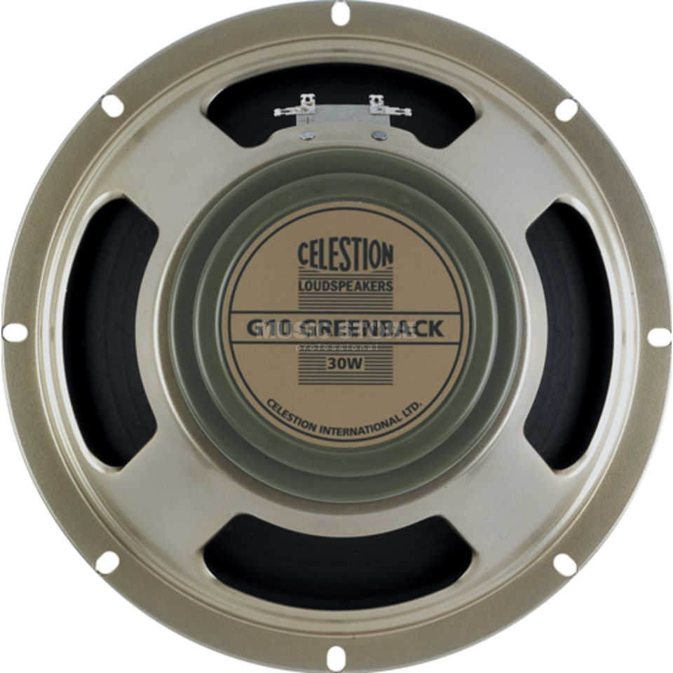 "Celestion G10 Greenback 10"" Speaker 8 Ohm Classic Series Produktbild"