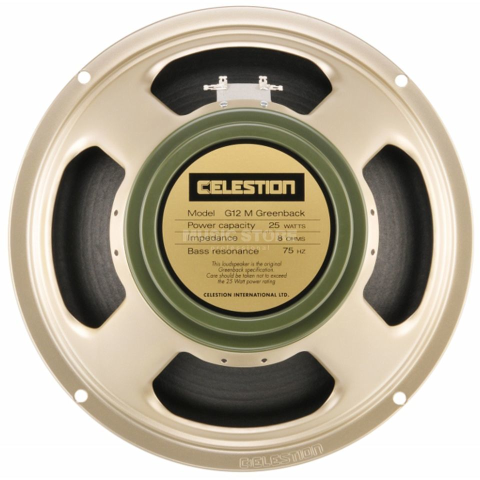 "Celestion G12M Greenback 12"" Speaker 8 Ohm Produktbillede"