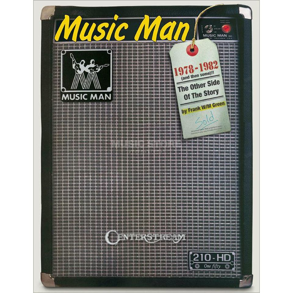 Centerstream Publications Music Man Amps 1978-1982 Produktbillede