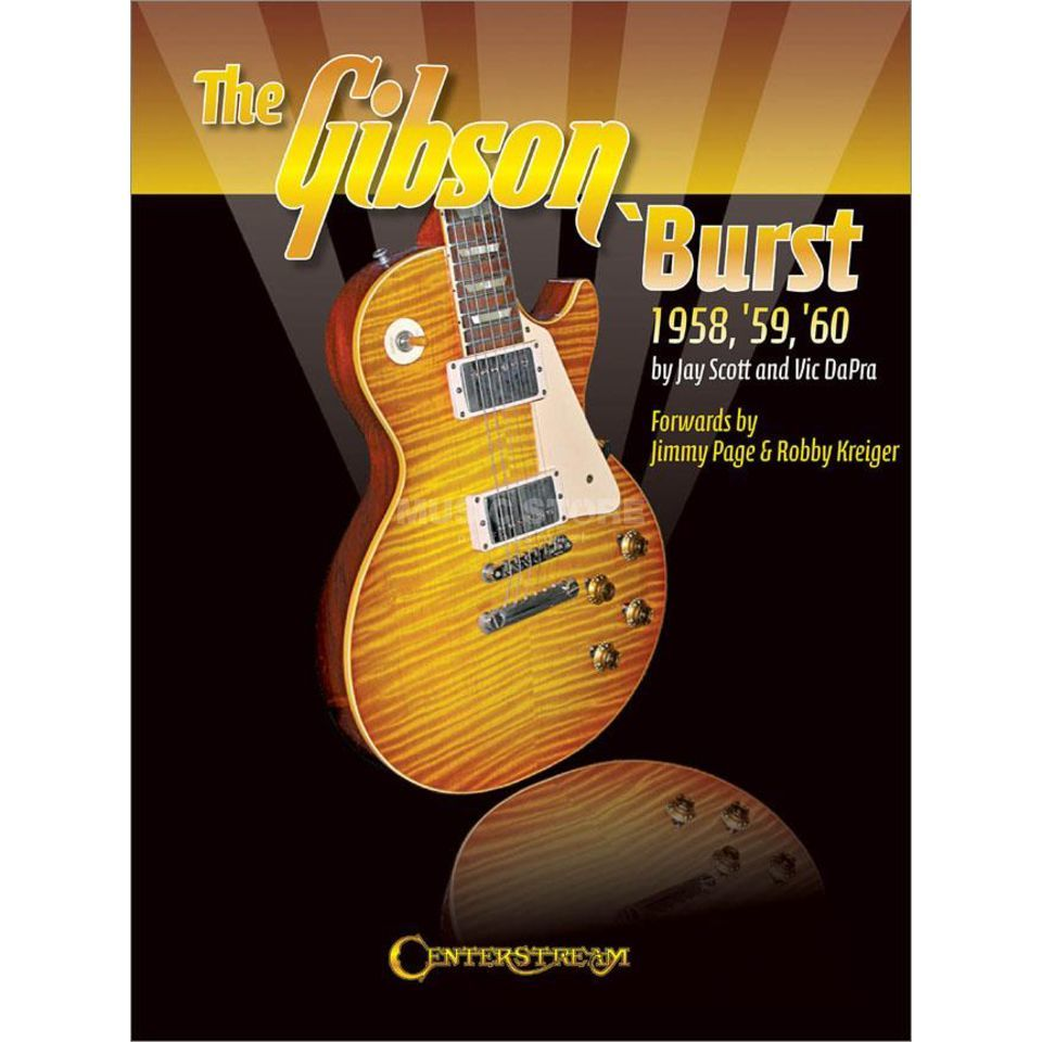 Centerstream Publications The Gibson 'Burst 1958-1960 Produktbillede