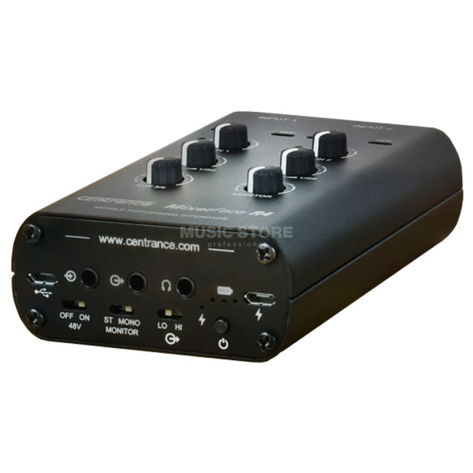 CEntrance MixerFace R4 Mobile Recording Interface Product Image