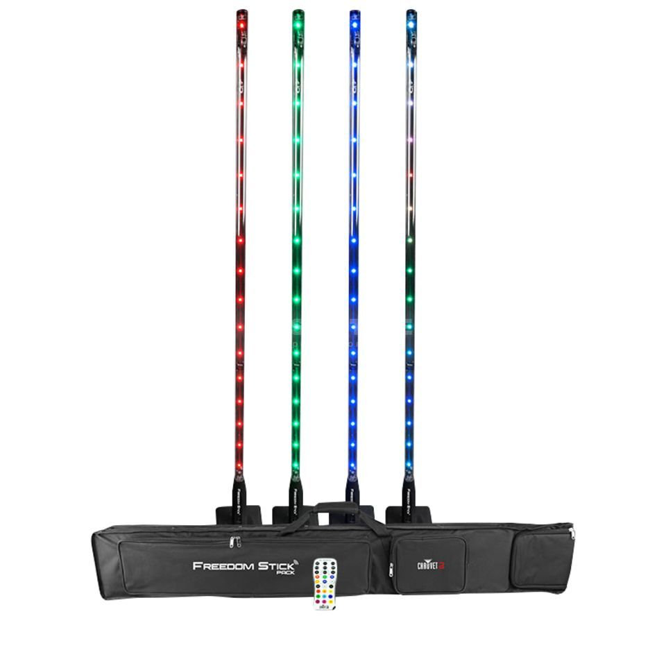 Chauvet DJ Freedom Stick Pack incl. Bag Charger, IRC-6 Imagem do produto