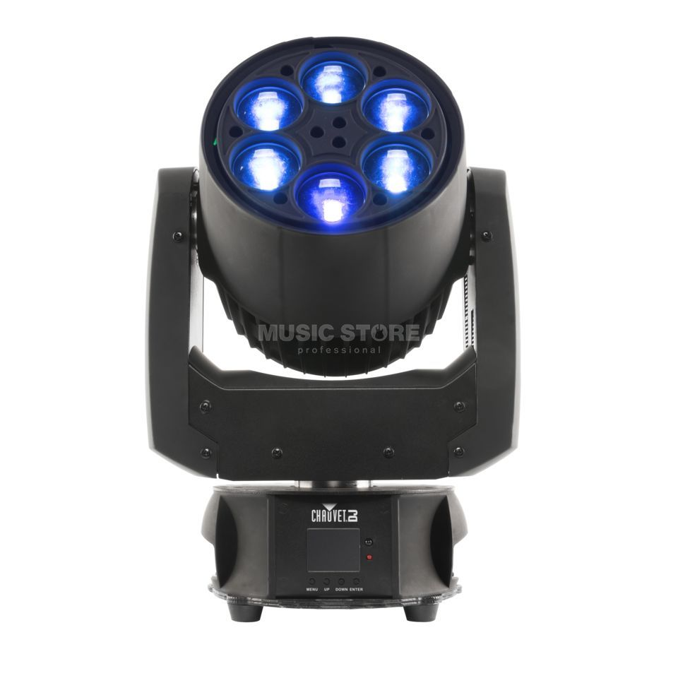 Chauvet DJ Intimidator Trio 6 x 21W Beam / Wash Moving Head Imagem do produto