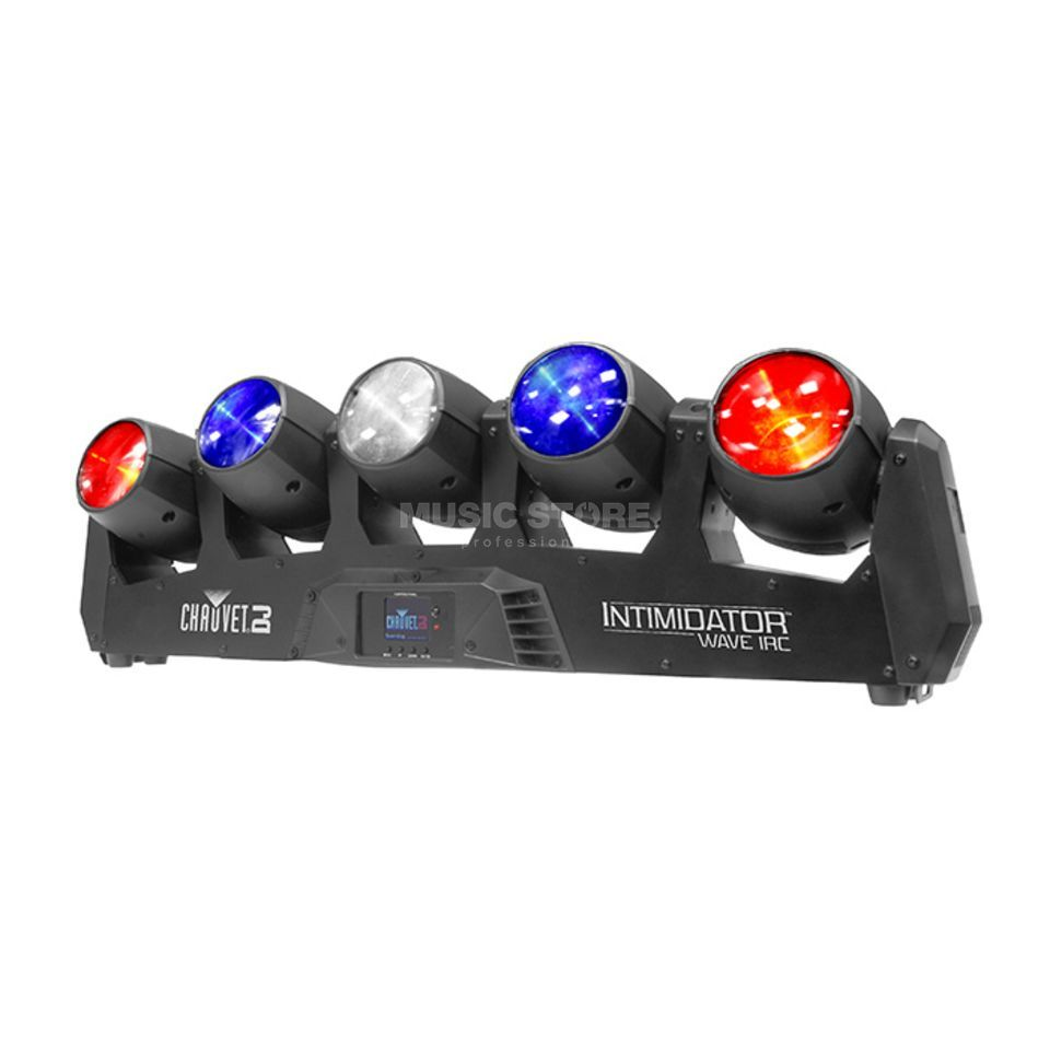 Chauvet DJ Intimidator Wave IRC Movinglight Array 5x 12 Watt Produktbillede
