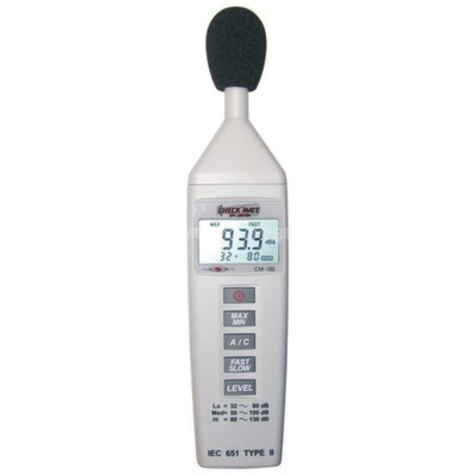 CHECK MATE CM-140 Sound Level Meter Produktbillede