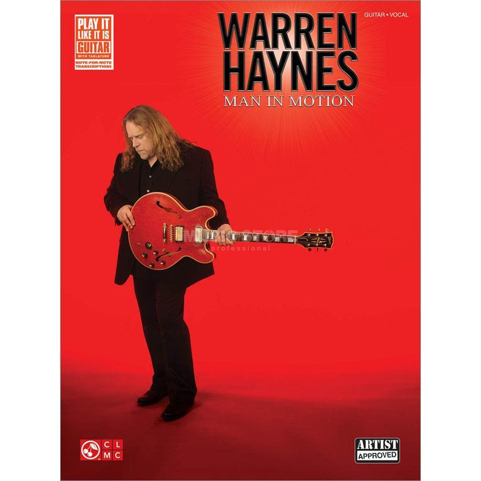 Cherry Lane Music Company Warren Haynes: Man in Motion TAB Produktbillede