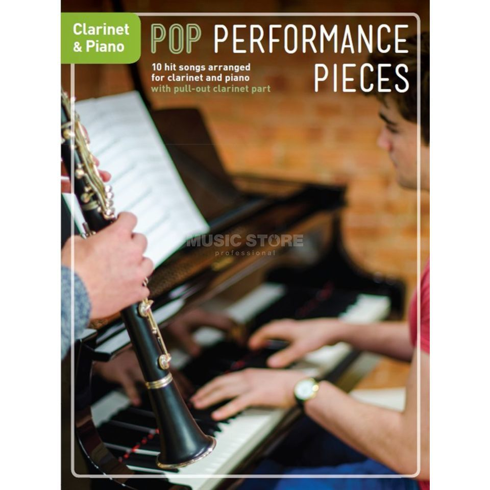 Chester Music Pop Performance Pieces: Clarinet And Piano Produktbild