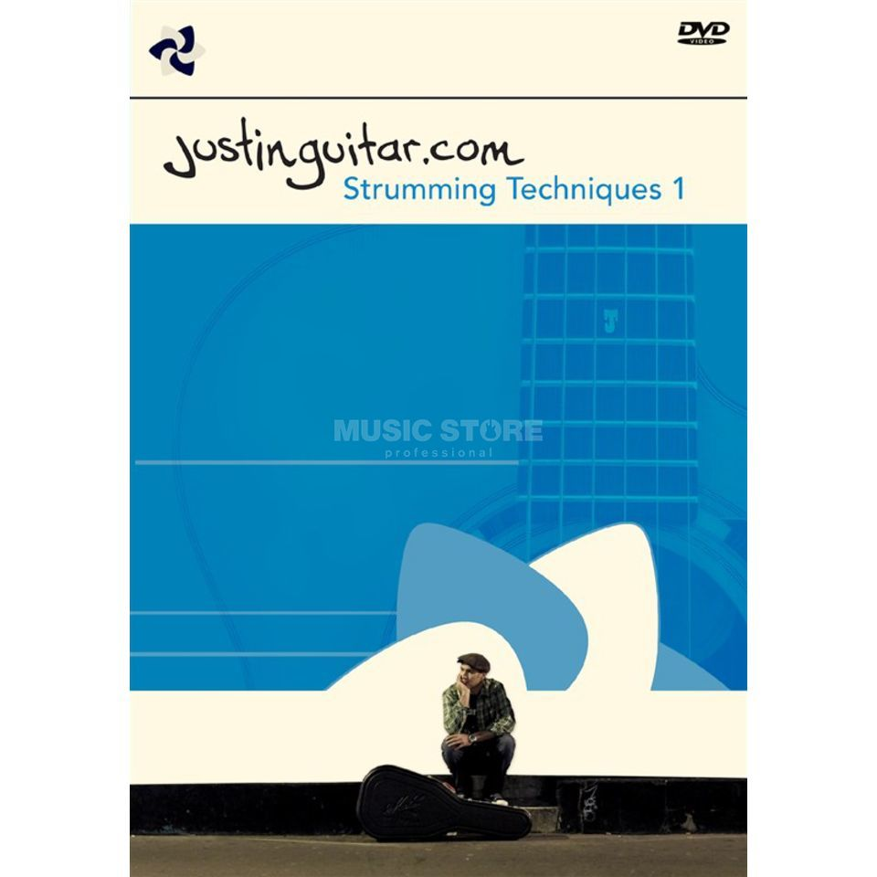 Chocolate Cake Productions Justinguitar.com: Really Useful Strumming Techniques - Volume 1 (DVD PAL) Productafbeelding