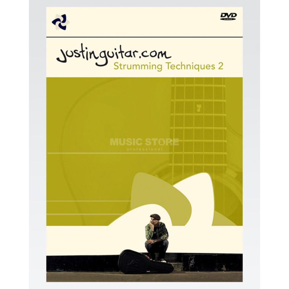 Chocolate Cake Productions Justinguitar.com: Really Useful Strumming Techniques - Volume 2 (DVD PAL) Zdjęcie produktu
