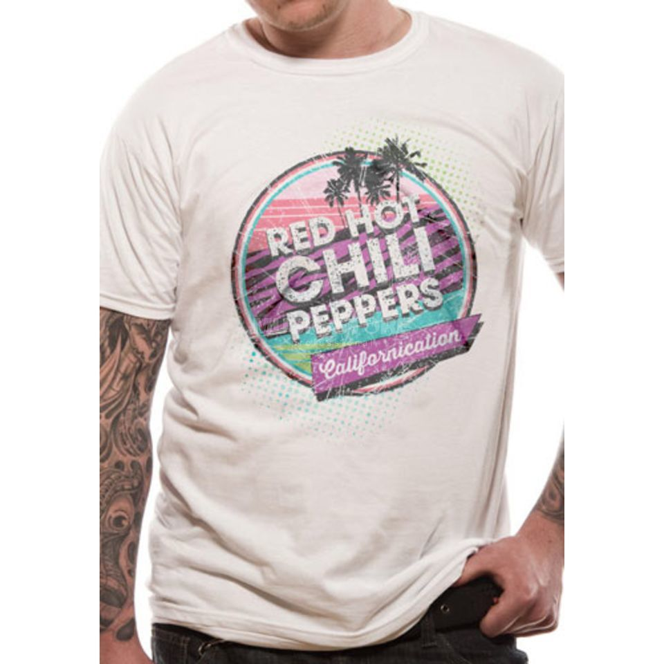 CID Red Hot Chili Peppers XXL Retro Californication Unisex Produktbild