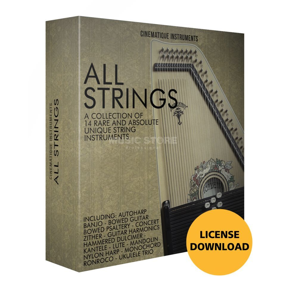 Cinematique Instruments All Strings Bundle (License Code) Produktbild